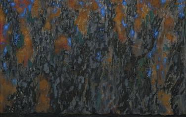 Состояние (Октябрь). Вторая часть диптиха. 80х70. 2011. Холст, масло.