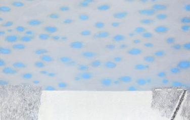 Первый снег. 100х110. Холст, масло. 2008.