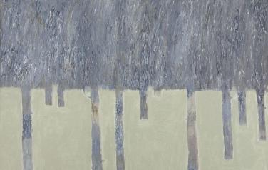 Зимний лес. 2007. Холст, масло. 100х120.