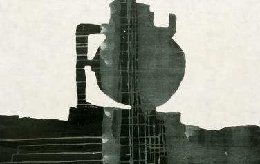 А. Чумак. Стратиграфия № 2. 2012. 105х105. Холст, акрил.