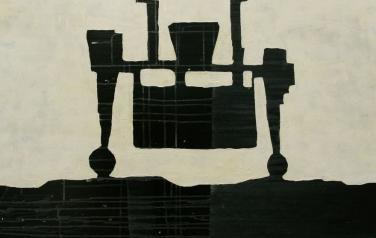 Стратиграфия № 3. 105х105. 2012. Холст, акрил.