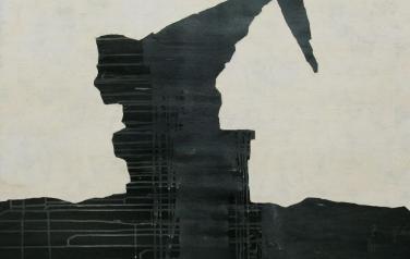 Стратиграфия № 5. 105х105. 2012.  Холст, акрил.