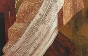 Агора, 115х95 см, х.м смешанная техника