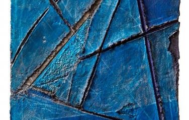 Бермудский треугольник. 77Х56. 2006. ДСП, бум.масса, смеш.тех.