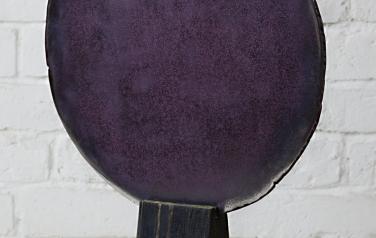 Объект, 49х37х10 см, дерево, сталь, травление, масло, 2006