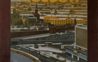 Moscow, 75x58cm, color drawings on paper, 2008