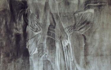Хариты. 190х140. Бумага,графит,акрил. Коллекция Агентства.Art Ru