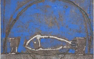 Рыба. 81х87. 2007г.В частной коллекции