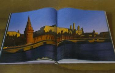 The Kremlin, 114x195cm, oil on canvas, 2009.