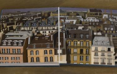 The roofs of Paris, 60x120cm, oil on canvas, 2008-2009