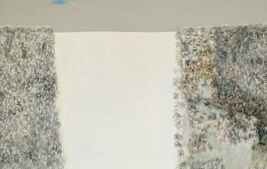 Зимняя поляна. 120х120. Холст, масло, 2010 г.