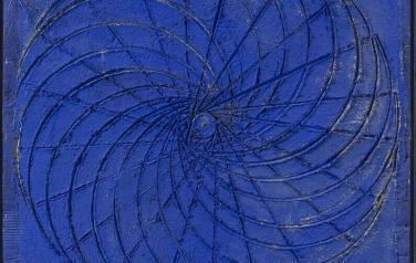 Вращательное движение геометрических фигур №4. Квадриптих. 112х96 каждая. 2004