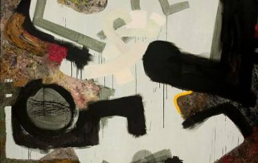 Big Crunch-5. 2004. Холст, масло, темпера. 200х200. Коллекция Агентство. Art Ru