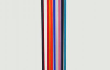 Дарья Коновалова-Инфанте, Из серии Интервалы, 150х30х20 см., дерево, акрил 2020