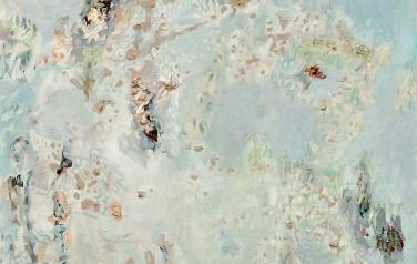 Мокрый снег. 150х100. 2013. Холст, масло