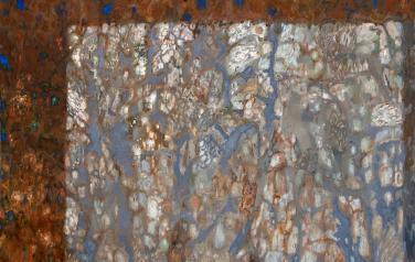 Освещенная веранда. 140х160. 2013. Холст, масло