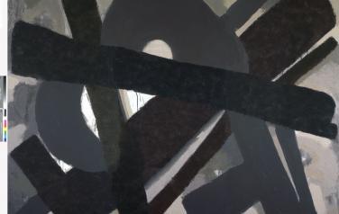Письмо второе. Из серии Письма без темы. 2009-2010. Холст, темпера. 280х360