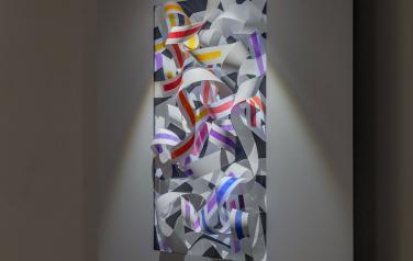 Платон Инфанте, Color knots, мультимедиаобъект, смешаная техника