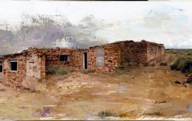 Пушницкий. No Man's Land #1 100х35, х., м.
